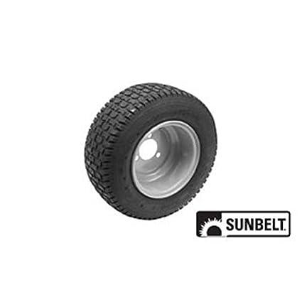 Amazon.com: sunbelt- – Rueda para cortacésped (16 x 6,5 x 8 ...