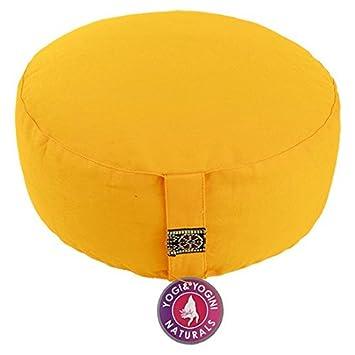 Cojín de meditación maylow cojín de yoga, colour amarillo ...