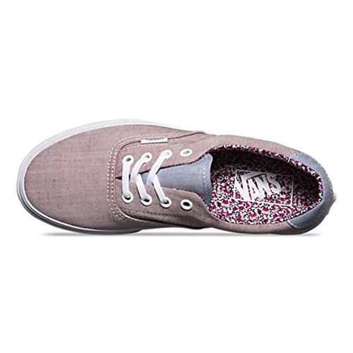 9 59 floral Shoes US Women's M Burgundy 5 Chambray Era Vans g40qayfBwy