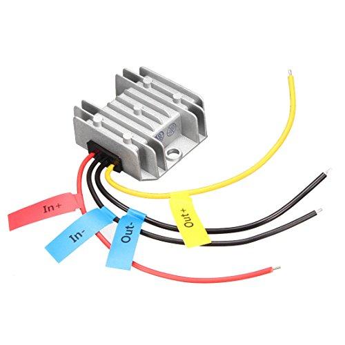 uxcell Power Converter Regulator Waterproof Voltage Convert Transformer