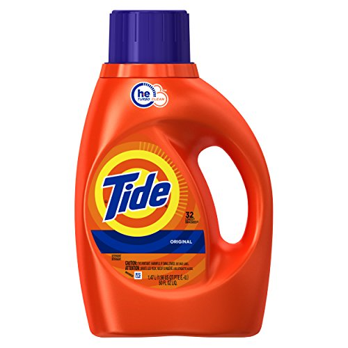 Price comparison product image Tide HE Liquid Detergent, Original - 32 Loads, 50 oz