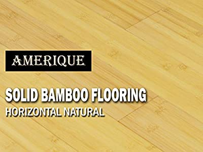 """AMERIQUE GLHN9609615 Pre-Finished Green Product 23.81 sq. ft./3-3/4"""" x 5/8"""" x 37-3/4"""" Natural 23 Square Feet"""