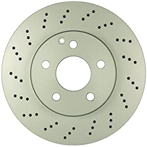 Bosch 36010991 QuietCast Premium Disc Brake Rotor For Mercedes-Benz: 2008-09 C230, 2010-12 C250, 2008-12 C300, Front