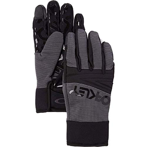 Oakley Factory Park Men's Snowmobile Gloves - Forged Iron/Large
