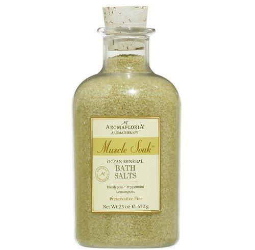 Aromafloria Muscle Soak Bath Minerals 23 Ounce