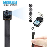 Portable Mini Spy Hidden Camera-Full HD 1080P DVR Video Recorder Motion Activated Security Camera with a remote controller