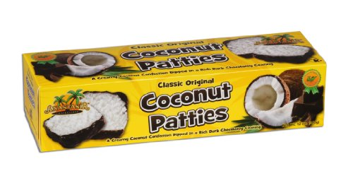 Anastasia Confections Coconut Patties, Original, 12-Ounce (Pack of 4)