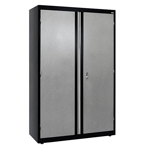 Sandusky Lee GACF462472-M9 Welded Steel Combo Cabinet, 3 Adjustable Side Shelves, 1 (Adjustable Side Shelf)
