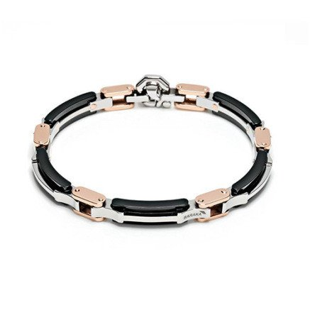 56788e367f58b BARAKA ROSE GOLD BRACELET WITH BLACK CERAMIC: Amazon.ca: Jewelry