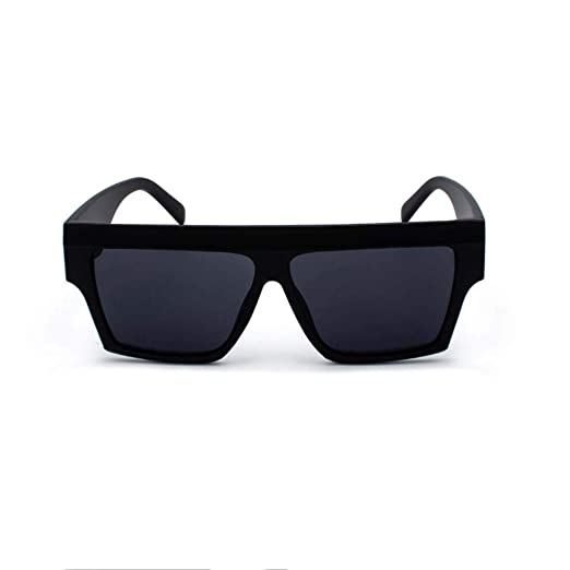 c991214b5c3 JJLIKER Vintage Rectangular Large Frame Sunglasses for Women Protection  Eyewear Fashion Baseball Running Cycling Fishing Black