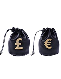 Sample9 Small Drawstring Bag Dollar GBP EUR Bags Jewelry Pouch Purse Coin Case Gift New