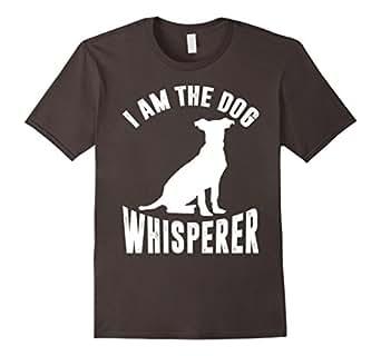 Mens I Am The Dog Whisperer T shirt 2XL Asphalt