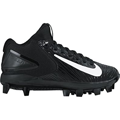 NIKE Boy's Trout 3 Pro Baseball Cleat Black/White Size 1.5 ...