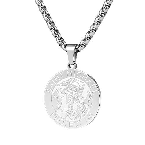(Wolentty Saint Michael Necklace - 1.18