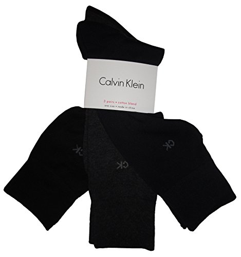 Calvin Klein Men Cotton Dress Flat Knit (Calvin Klein Knit Socks)