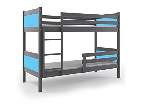 Etagenbett Rino : Interbeds etagenbett rino cm farbe grau zur wahl
