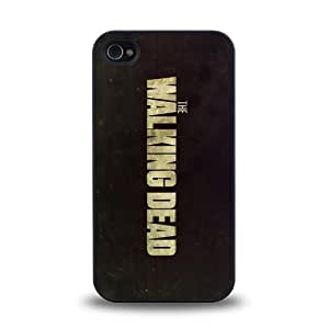 iPhone 4 4S case protective skin cover with hot TV The Walking Dead cool poster design #10