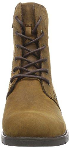 Clarks Orinoco Spice - botas de cuero mujer Marrón (Brown Snuff)