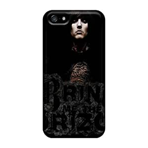 Shock Absorption Hard Cell-phone Cases For Iphone 5/5s With Custom Fashion Bring Me The Horizon Band Bmth Series SherieHallborg