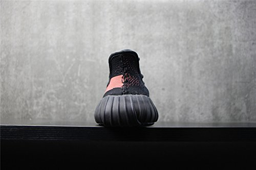 Stimuler 350 V2 Hommes Despadrilles De Chaussures Pour Femmes Baskets Chaussures Chemise Du Sport En Tricot Dentelle Respirant Série Chaussures En Plein Air Noir / Rouge / Noir