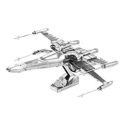 Fascinations Metal Earth Star Wars Force Awakens Poe Dameron's X-Wing Fighter 3D Metal Model Kit (Star Wars X-wing Fighter Model)