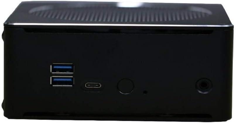 Partaker B18 DDR4 Coffee Lake 8th Gen Mini PC Intel Core I7 8850H DDR4 RAM NGFF SSD Intel UHD Graphics 630 Mini DP HDMI WiFi,Barebone System