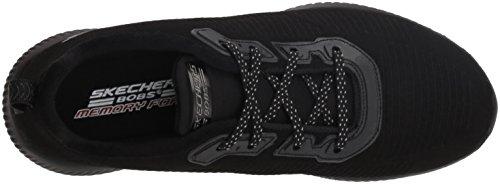 Negro team Mujer Para Zapatillas Bobs Skechers Squad xOqa5Yw5z