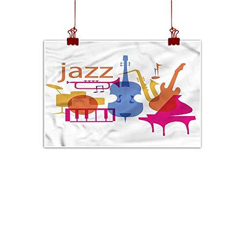 (Sunset glow Simple Life Minimalist Music,Jazz Equipment Modern Band 48