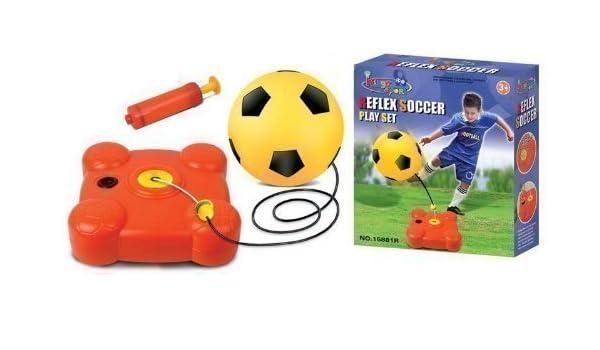 Kingsport Reflexing Football Soccer Trainer Kit for Kids