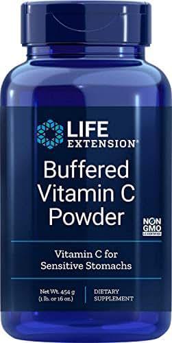 Life Extension Buffered Vitamin C Powder, 454 Grams