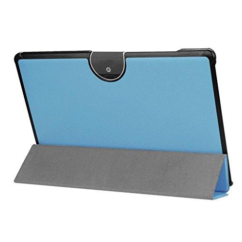 Boîte de protection en cuir PU couverture pour Acer TAB10A3de A5010.1Pouces Ultra Thin Résistant aux rayures Flip Flat/Phone Holder