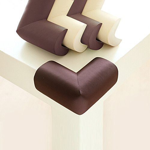 UPC 702114577354, BABY MATE 12 PCS Home Safety NBR Foam Furniture Corner Cushion Protector (Brown, 1174)
