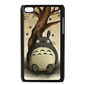 iPod Touch 4 Phone Case Black My Neighbor Totoro AFVT580113