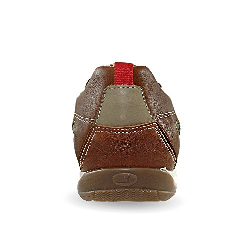 Mocassino RED Oliato Marrone Aerato ROCK Estive Marrone Scarpe 6qwfqHxa5n
