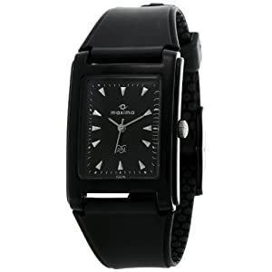 Maxima Analog Black Dial Men's Watch – 02438PPGW