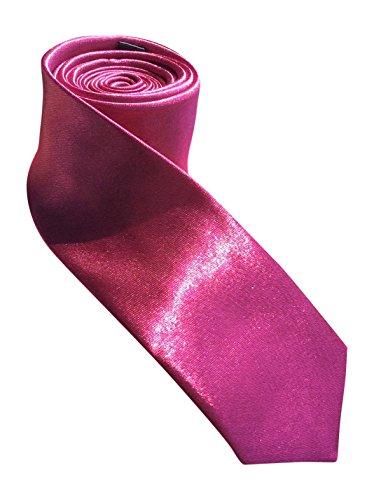 Colors Dress Snob Evening Skinny Sock Deep Colourful Tie 26 Pink Necktie Satin Men's vwHTwxAqXa
