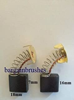 Carbon Brushes for Bosch PA6-GF30 angle grinder PAG-GF33 PA6-GF35 PA66 Pair  E57