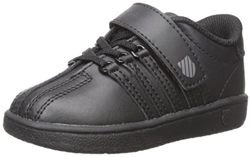 K-Swiss unisex-baby Classic VN VLC Shoe, Black/Black, 8 M US Toddler