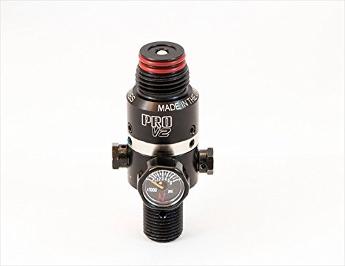 Ninja Paintball Pro V2 Regulator - 4500 psi Valve Spring Collars