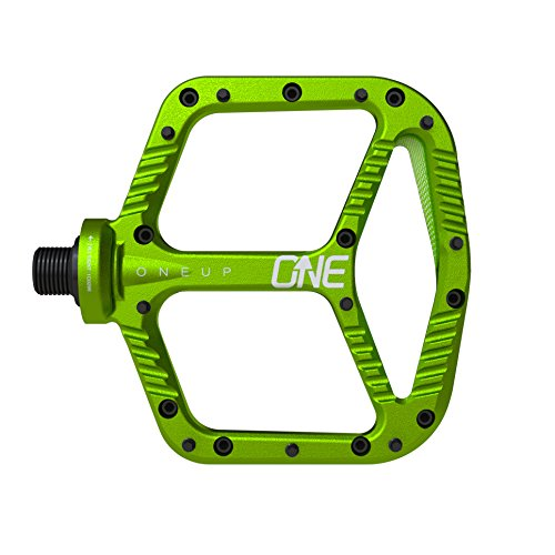 OneUp Components Aluminum Pedal (Green) by OneUp Components