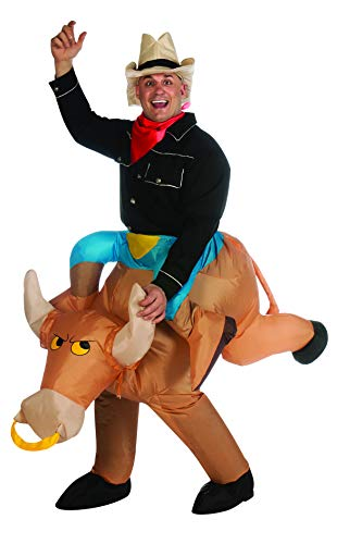 Rubie's Inflatable Bull Rider, Multicolored, One Size