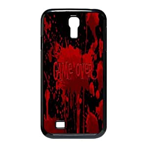 HQYDIY Custom Game Over Plastic Case, DIY Game Over Hard Cell Phone Case for samsung galaxy s4 I9500