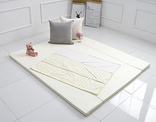 MAMING Speed Bumper Bed Eco friendly oversize Playmat (Ivory) by Maming