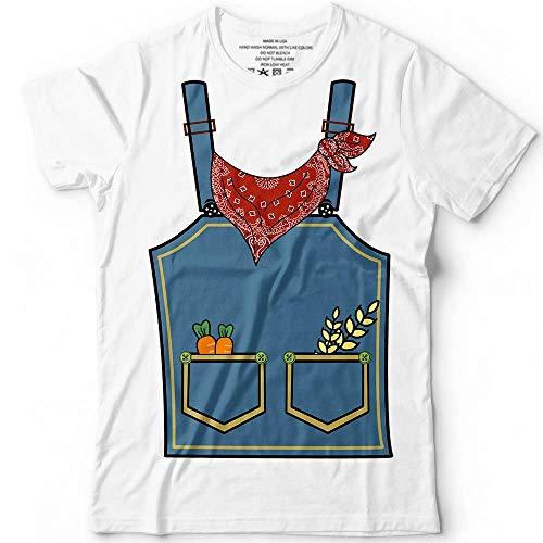 Farmer Halloween Costume Gardening Cowboy Country Customized Handmade T-Shirt Hoodie/Long Sleeve/Tank Top/Sweatshirt]()