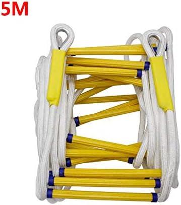 救助縄はしご脱出はしご応急処置安全対応火災救助ロッククライミング脱出縄はしご,10M