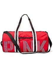 """Victoria's Secret Pink Nation Weekender Duffle Bag Color Red Pepper 23 1/4"""""""
