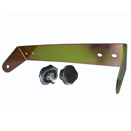 WORKMAN C-529 CB Radio mount bracket for COBRA 29 with 5mm plastic knobs ()