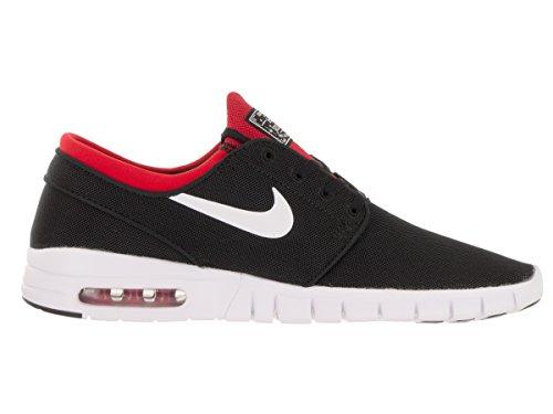 Nike Stefan Janoski Max Mens Sneakers Nero / Bianco / Rosso Università
