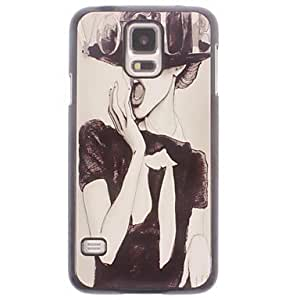 YULIN Samsung S5 I9600 compatible Graphic/Cartoon/Special Design Metal Back Cover