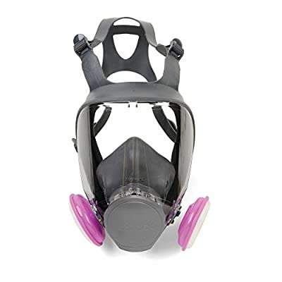 Moldex 9002 9000 Series Full-Face Respirator, Medium